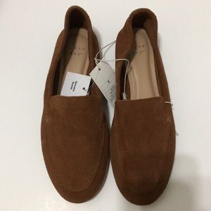 A New Day soft Suede Loafers size 8